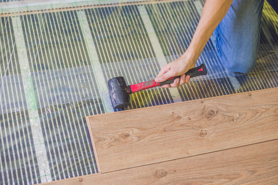 Install the right flooring in your home